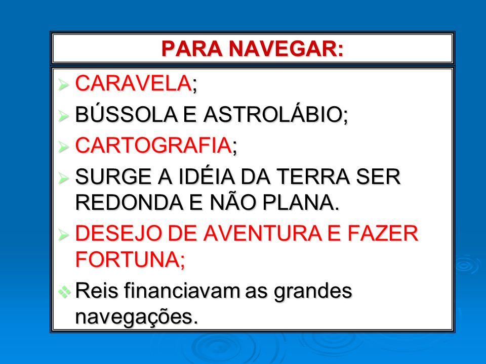 Pioneirismo português: Portugal séc.XV – poder centralizado voltado para o comércio; Portugal séc.