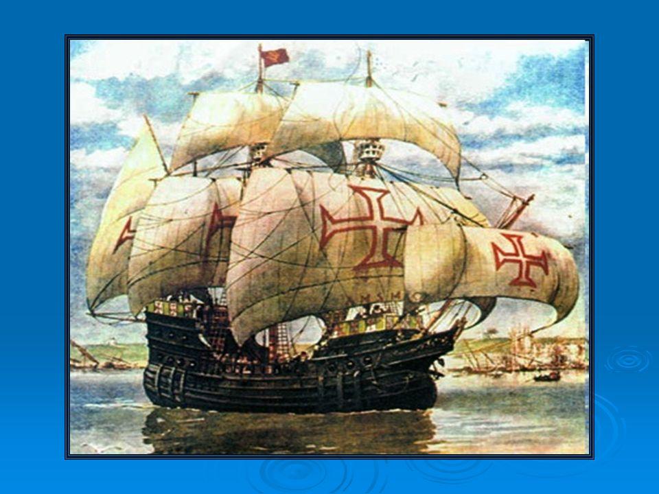 1488 – Bartolomeu Dias = Cabo da Boa Esperança; 1488 – Bartolomeu Dias = Cabo da Boa Esperança; 1492 – Colombo = chega à América; 1492 – Colombo = chega à América; 1.494 – Portugal X Espanha – Tratado de Tordesilhas; 1.494 – Portugal X Espanha – Tratado de Tordesilhas; 1.498 - Vasco da Gama – índia; 1.498 - Vasco da Gama – índia; Cabral (1500) – reconhece o Brasil – segue para as Índias - derrotar Calicute e formar feitorias.