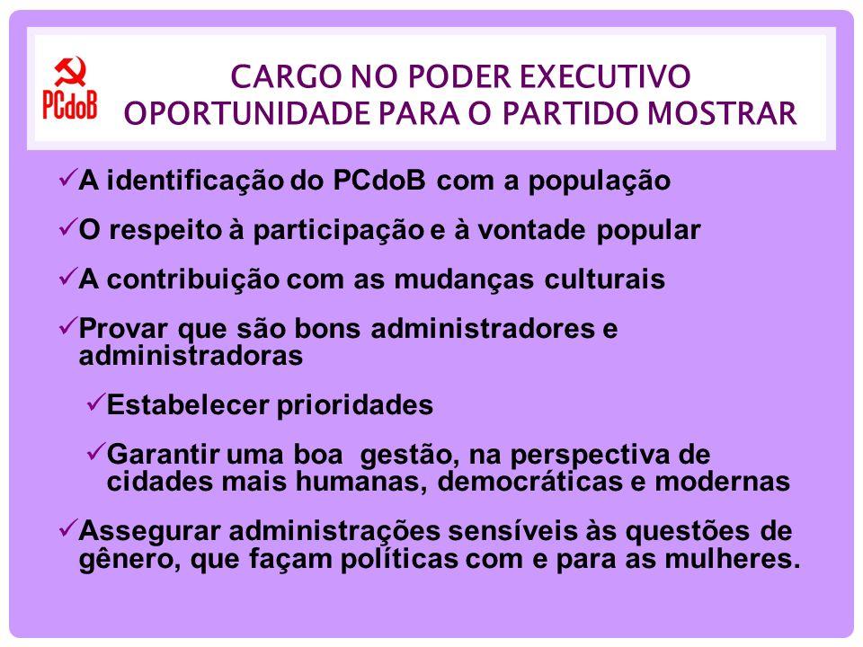 POLÍTICAS COM E PARA AS MULHERES As mulheres são metade da população e são atrizes indispensáveis na arena das lutas sociais para garantir as mudanças no campo econômico, social e político.
