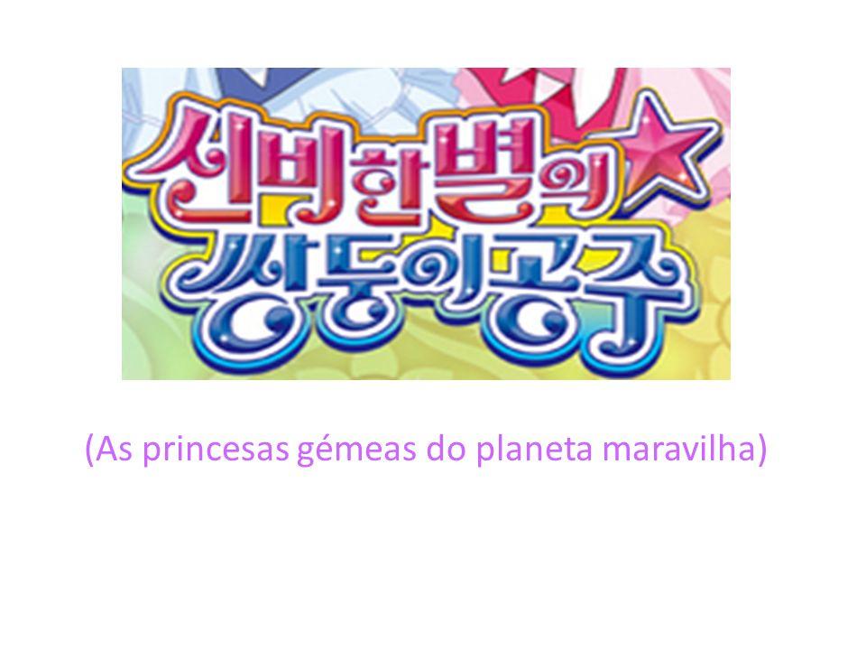 (As princesas gémeas do planeta maravilha)