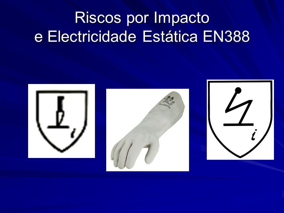 Riscos por Impacto e Electricidade Estática EN388