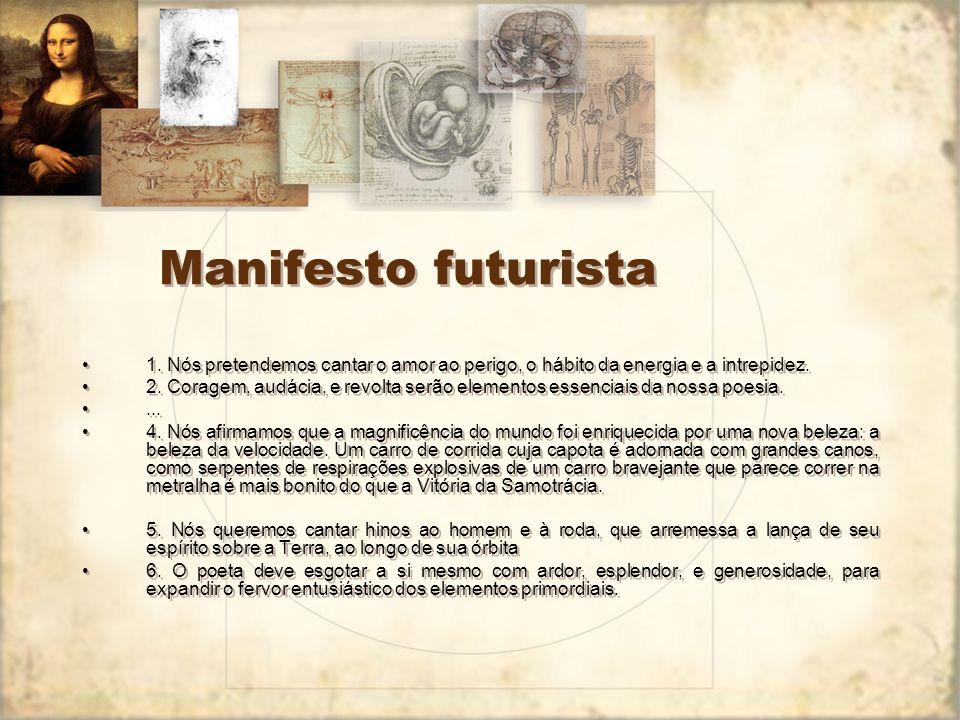 Manifesto Futurista nos jornais europeus