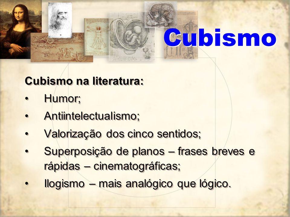 Cubismo Mulher com flor (1932), de Pablo Picasso, que assim se manifestou em certa ocasião: Toda a gente quer compreender a arte. Por que não tentam c