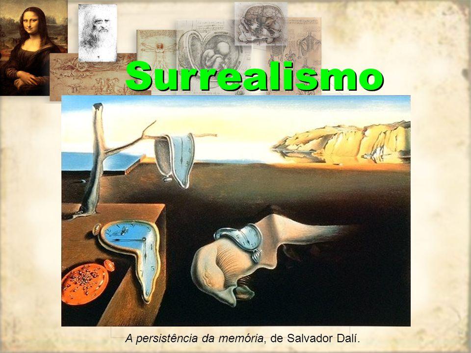 Surrealismo Sonho provocado pelo vôo de uma abelha em torno de uma romã, um segundo antes do despertar, data de 1944. Salvador Dalí.