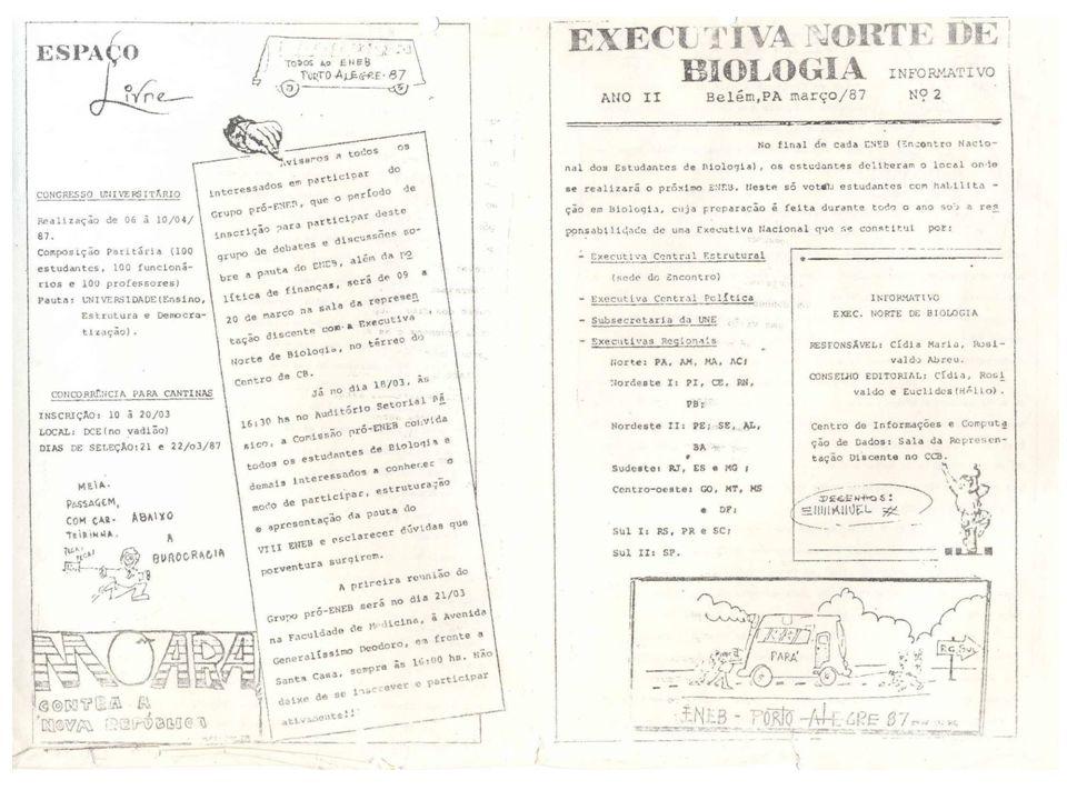 Anos 2000 2000 – XXI ENEB/ CE -Ocorreu em Fortaleza – CE com o tema: Responsabilidade social: assuma por que é sua.