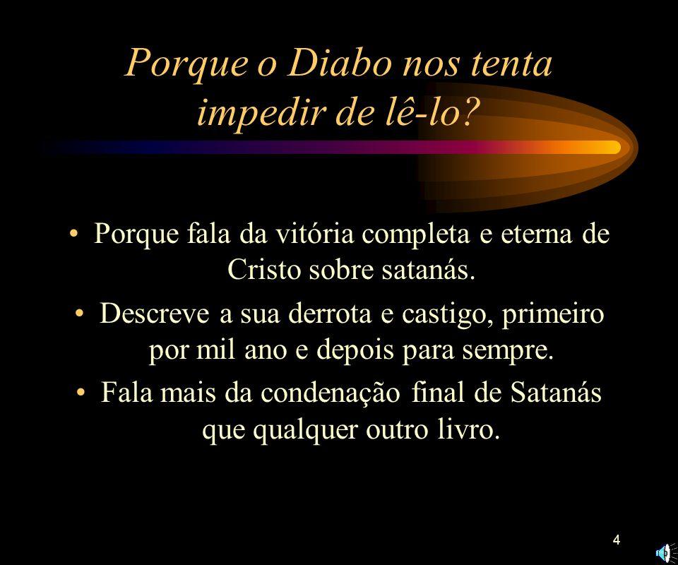3 Introdução ao Apocalipse O apocalipse é uma dádiva que nos vem de Deus, por meio de Jesus Cristo. Apocalipse significa revelação, forma particular d