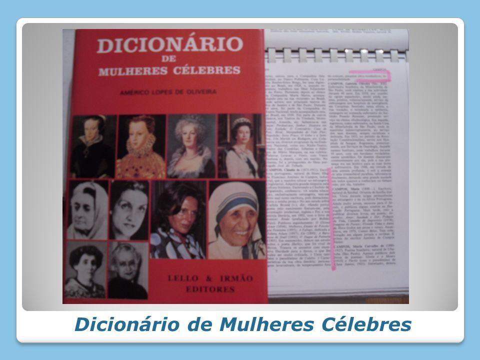 Dicionário de Mulheres Célebres