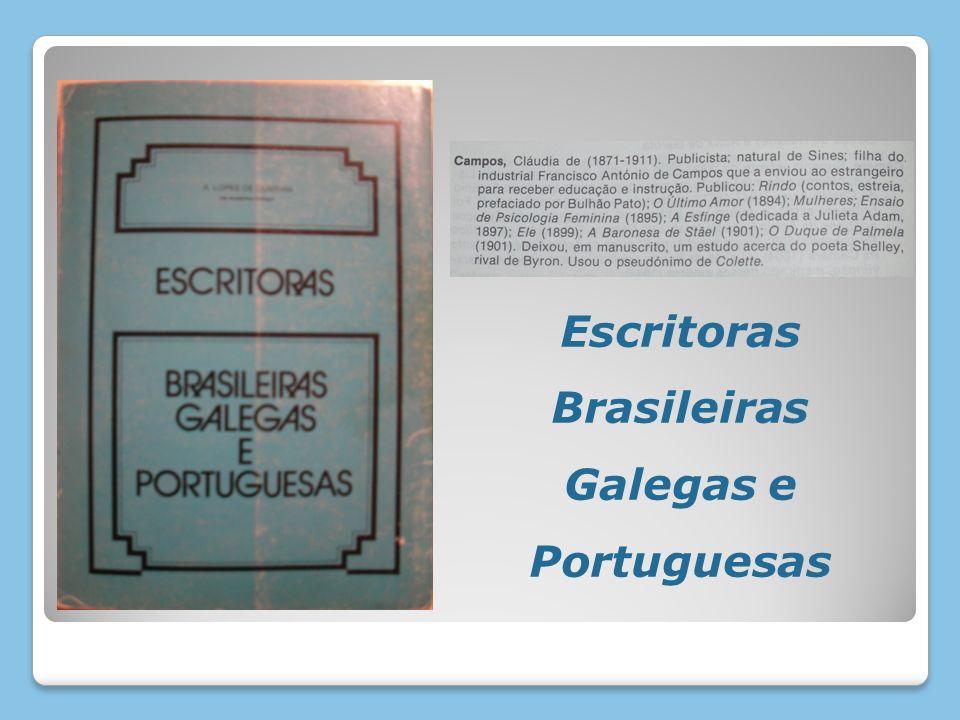 Escritoras Brasileiras Galegas e Portuguesas