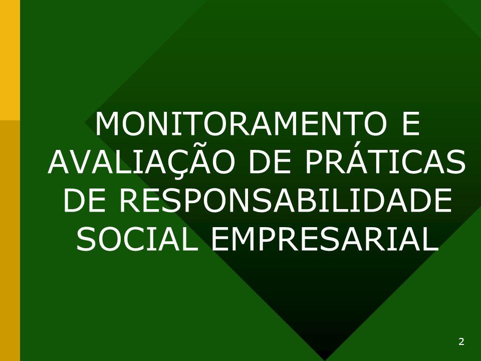 MONITORAMENTO E AVALIAÇÃO DE PRÁTICAS DE RESPONSABILIDADE SOCIAL EMPRESARIAL 2