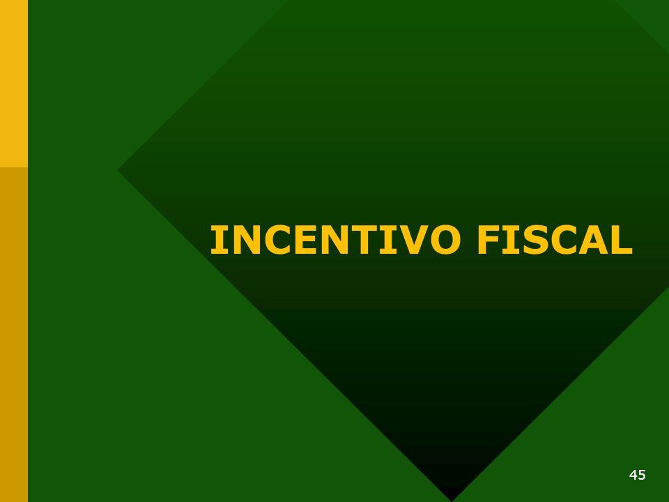 INCENTIVO FISCAL 45