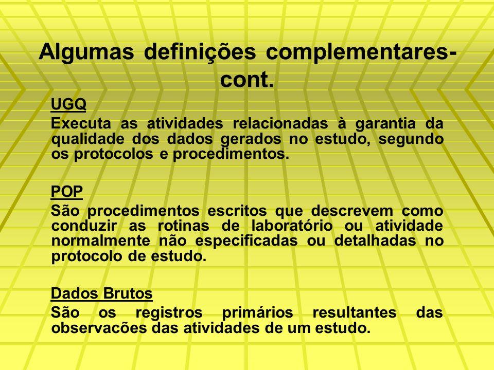 PROTOCOLO DE ESTUDOS Identificação do estudo da substância teste, referencia e controle com: Título Declaracão da natureza Propósito Identificacão da substância Informacões referentes ao patrocinador Datas Métodos, etc.