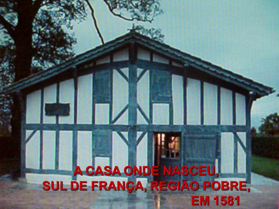 Em 1625, a pedido da Senhora Gondi, e depois de discernir qual era a vontade de Deus, Vicente de Paulo assina um contrato da Fundação da nova Instituição das Missões populares.