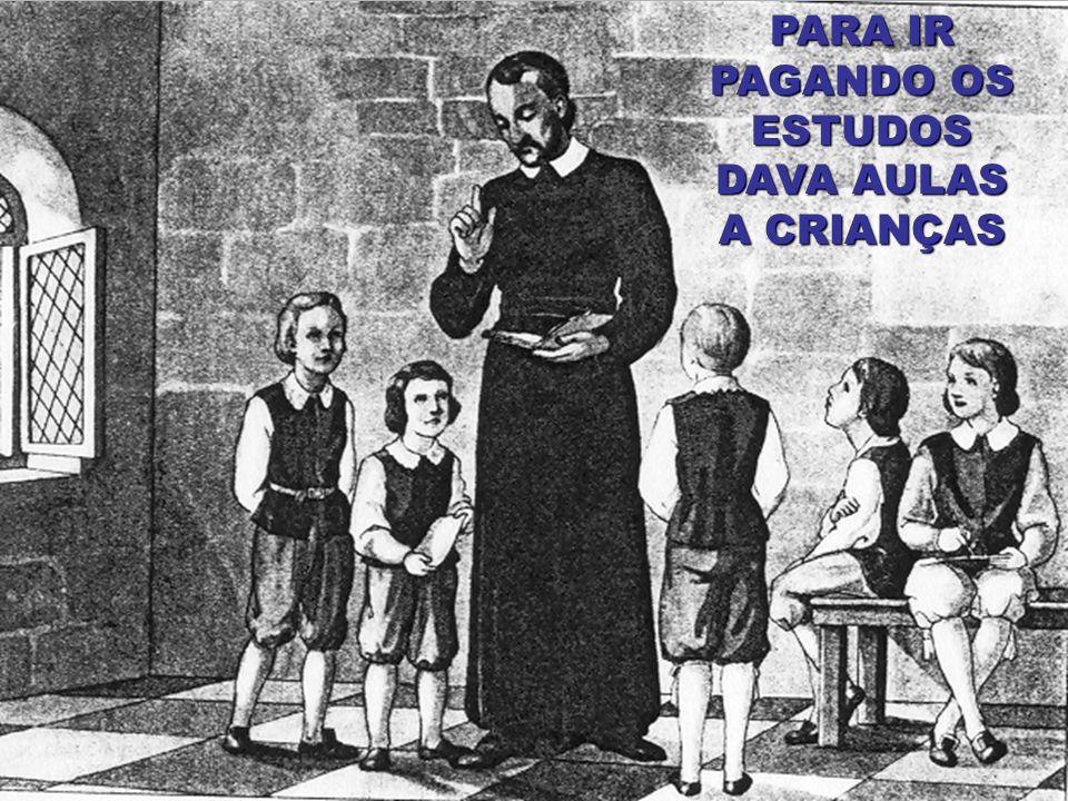 Em 1600, 23 de Setembro, é ordenado Sacerdote...