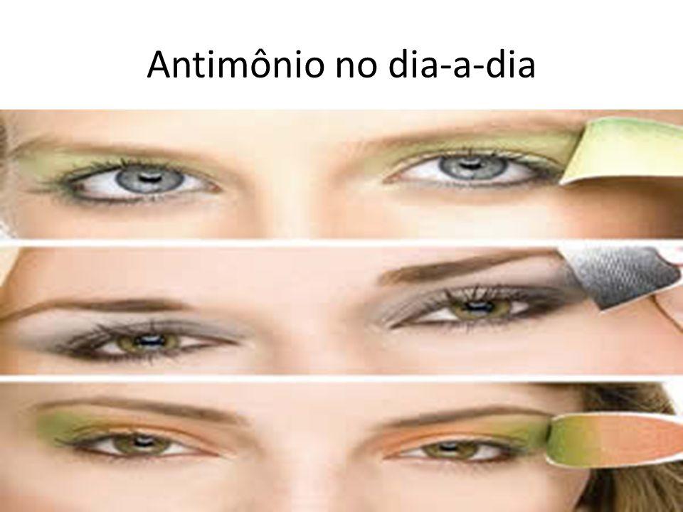 Antimônio no dia-a-dia