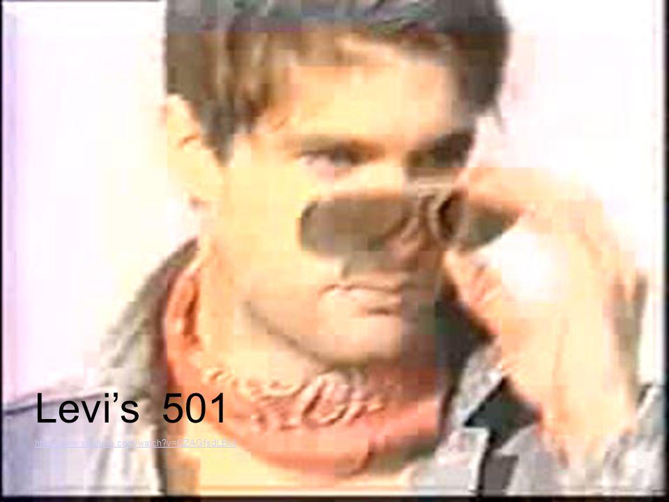 Levis 501 http://www.youtube.com/watch?v=0IZAGfsdLBM