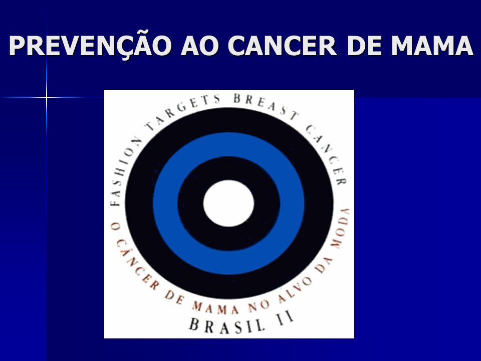PREVENÇÃO AO CANCER DE MAMA
