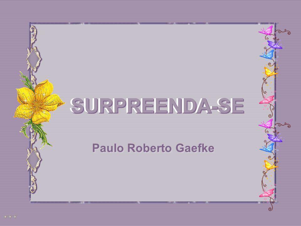 SURPREENDA-SE Paulo Roberto Gaefke SURPREENDA-SE