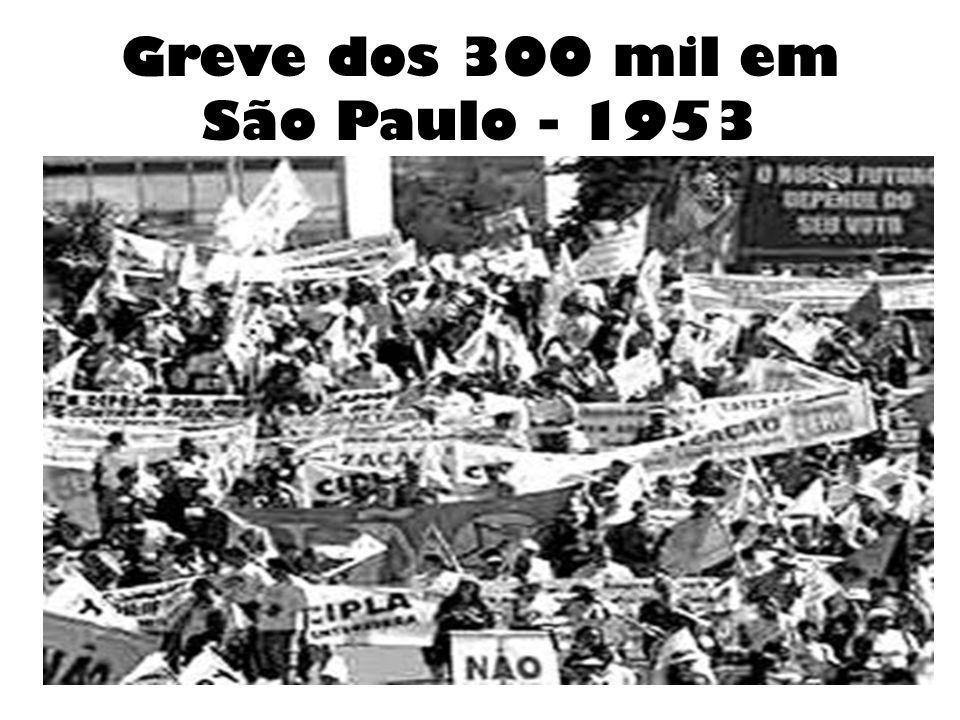 Greve dos 300 mil em São Paulo - 1953