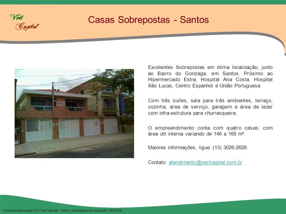 Construtora Tamandaré Direitos reservados 2011 Vert Capital – Melhor visualizado na resolução 1024x768 A Construtora Tamandaré atua no mercado há três décadas, sempre oferecendo imóveis de qualidade, em Santos e Praia Grande.