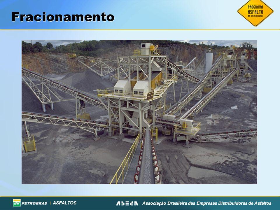 ASFALTOS Associação Brasileira das Empresas Distribuidoras de Asfaltos Fracionamento