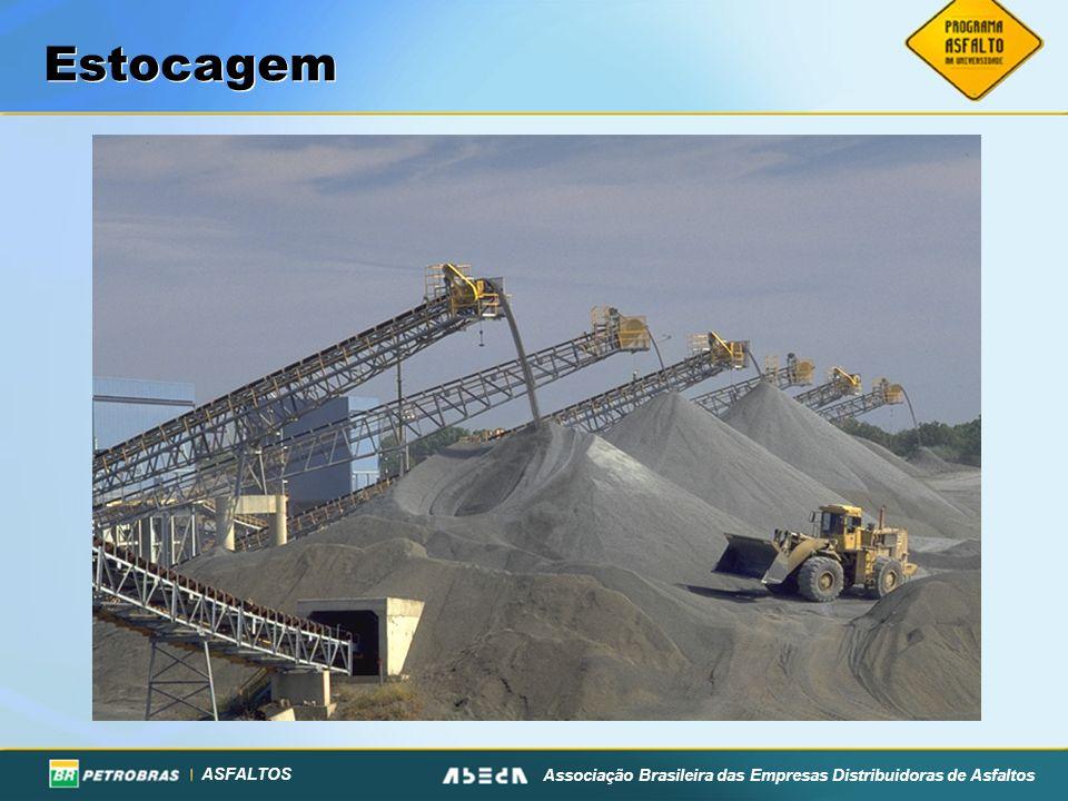ASFALTOS Associação Brasileira das Empresas Distribuidoras de Asfaltos Estocagem
