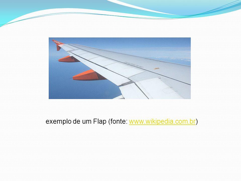 exemplo de um Flap (fonte: www.wikipedia.com.br)www.wikipedia.com.br