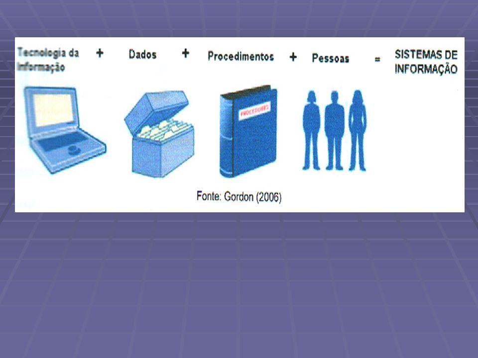 PRATES afirma que TI é apenas um componente do SI, como informação, práticas de trabalho e recursos humanos.