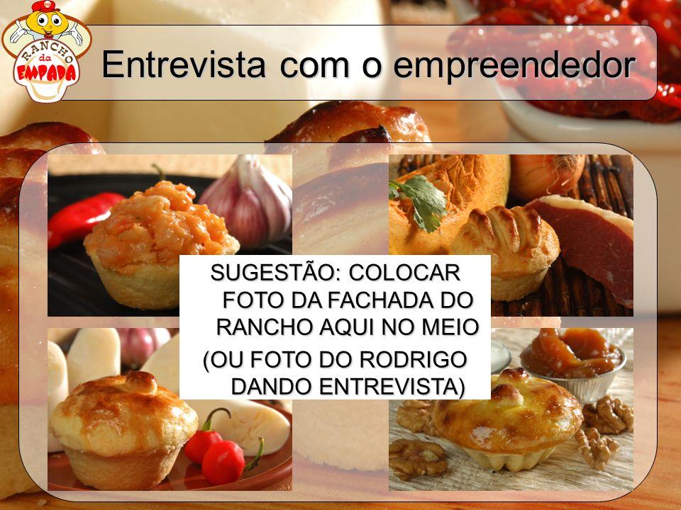 Entrevista com o empreendedor SUGESTÃO: COLOCAR FOTO DA FACHADA DO RANCHO AQUI NO MEIO (OU FOTO DO RODRIGO DANDO ENTREVISTA)