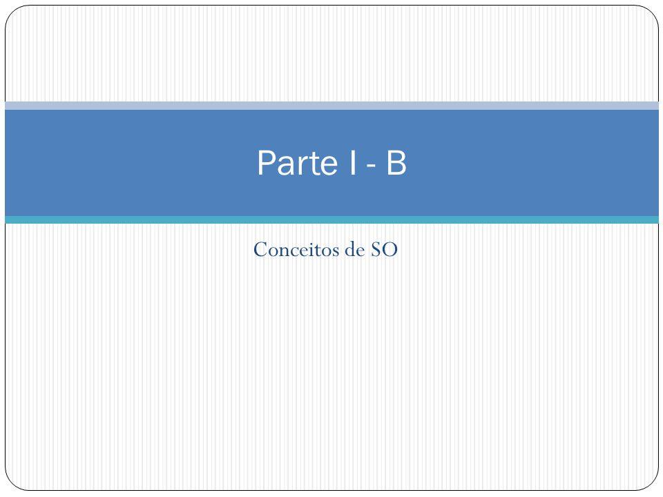 Década de 90 SOs Distribuídos: Conjunto de módulos de no mínimo, processador e memória interligados através de um subsistema de comunicação de topologia arbitrária.