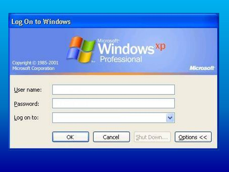 Como fazer Login nos computadores do Cedaspy O Cedaspy utiliza em seus computadores, o Sistema Operacional Windows XP, para fazer Login devemos seguir