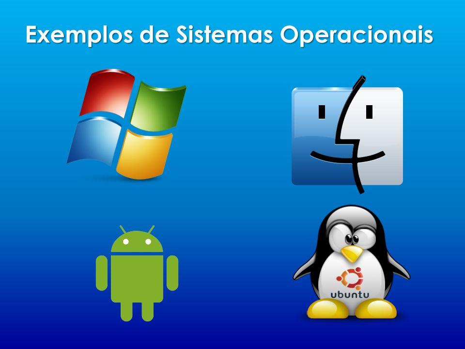 Exemplos de Sistemas Operacionais