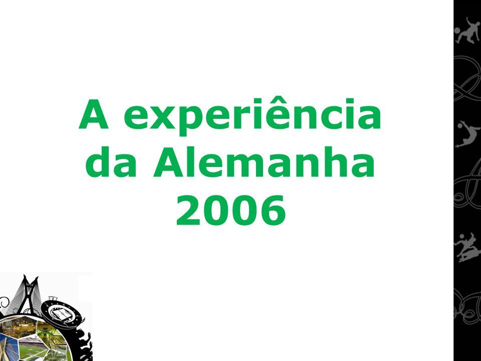 A experiência da Alemanha 2006