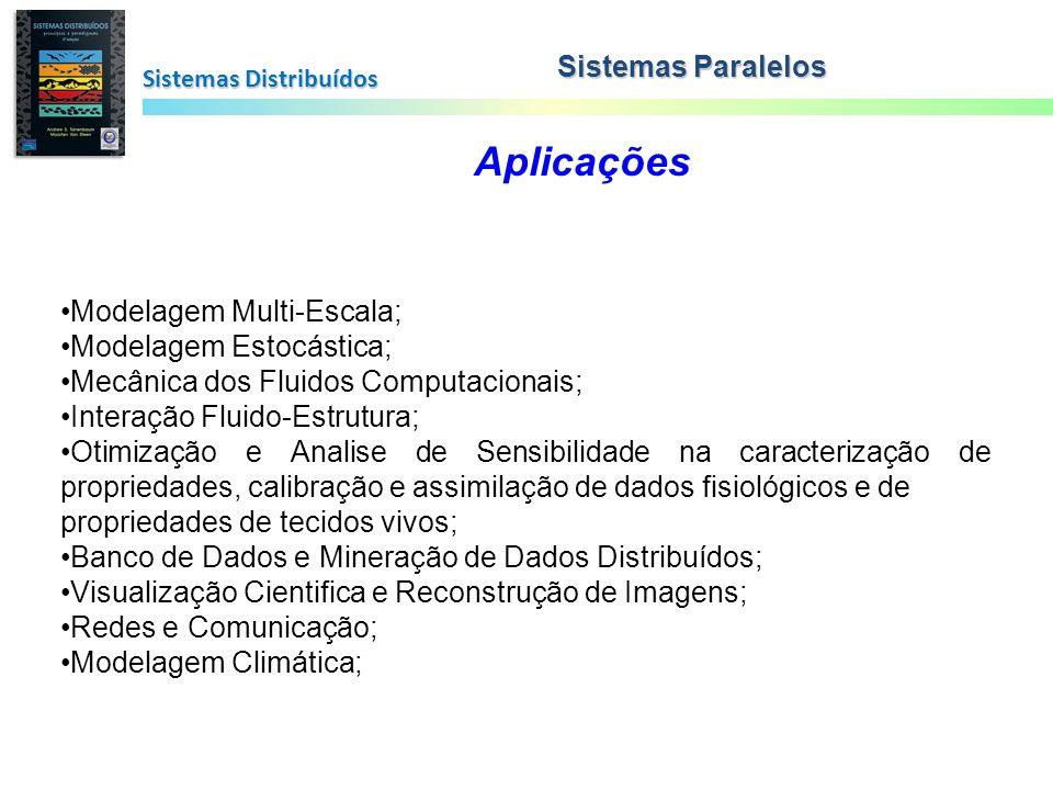 Sistemas Distribuídos Sistemas Paralelos Aplicações Modelagem Multi-Escala; Modelagem Estocástica; Mecânica dos Fluidos Computacionais; Interação Flui