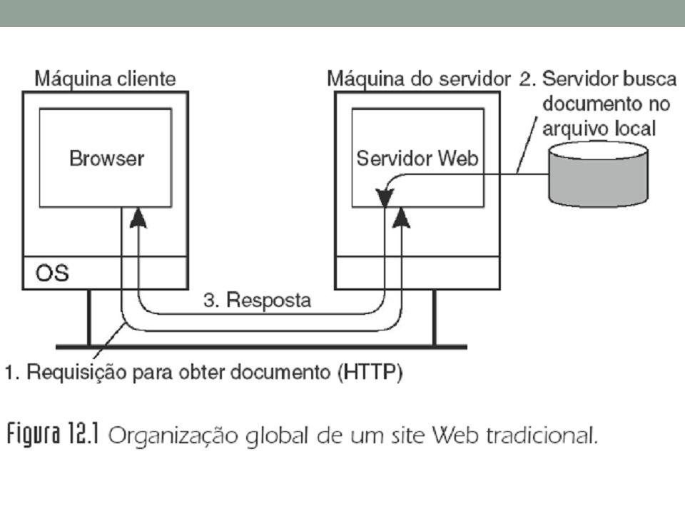 Os documentos Web são escritos utilizando uma linguagem de marcação denominada HTML (Hypertext Markup Language), ou, linguagem de marcação de hipertexto.