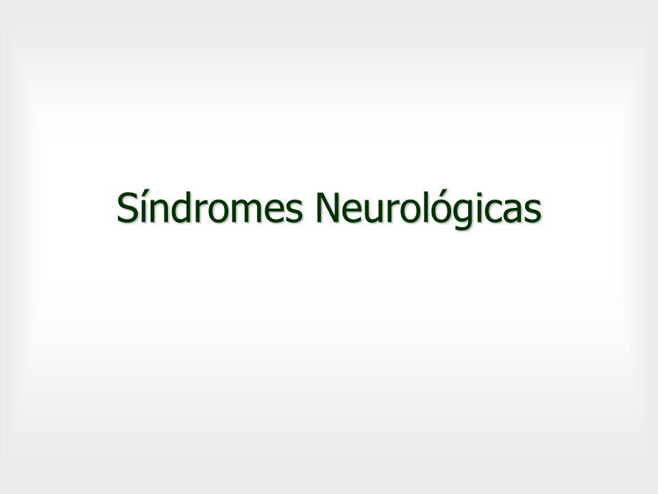 Síndromes Neurológicas
