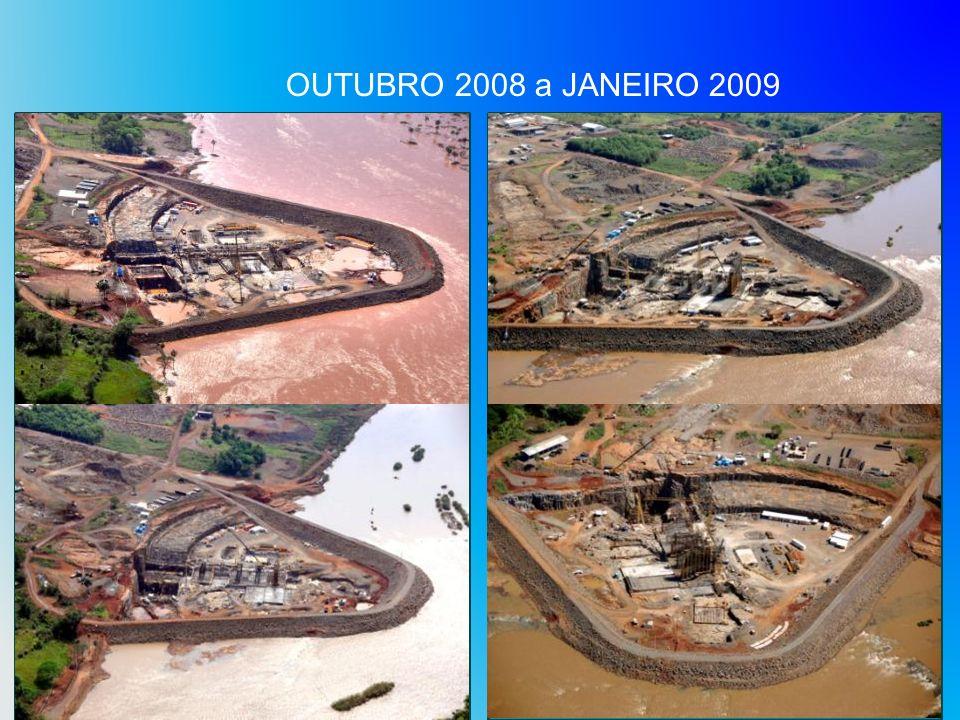 OUTUBRO 2008 a JANEIRO 2009
