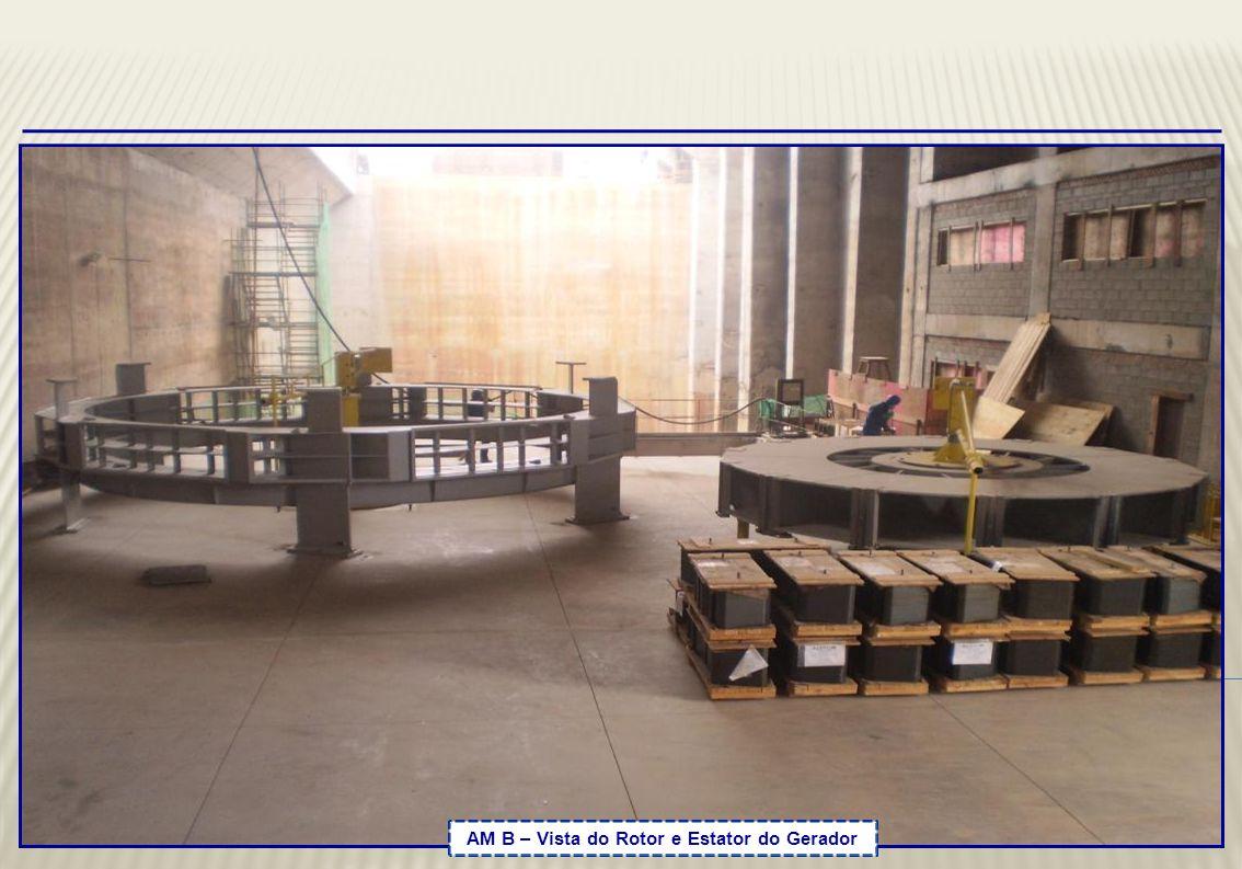 U2 – Caixa Espiral - Armação para concretagem até a elevação 132,00m