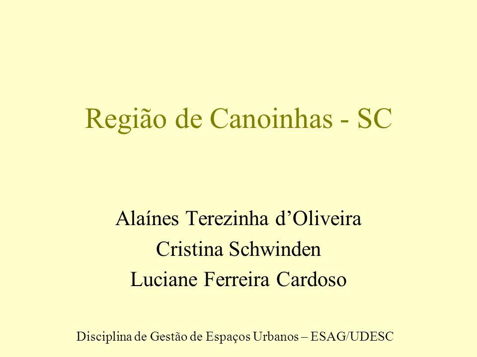 Santa Catarina SDR Canoinhas