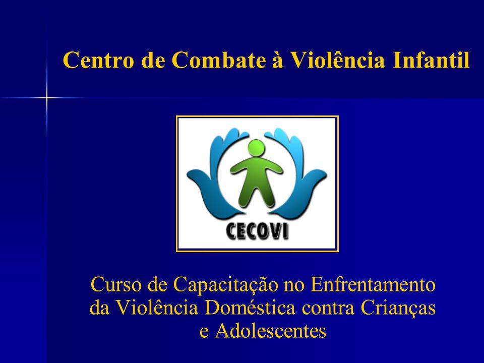 Centro de Combate à Violência Infantil Curso de Capacitação no Enfrentamento da Violência Doméstica contra Crianças e Adolescentes