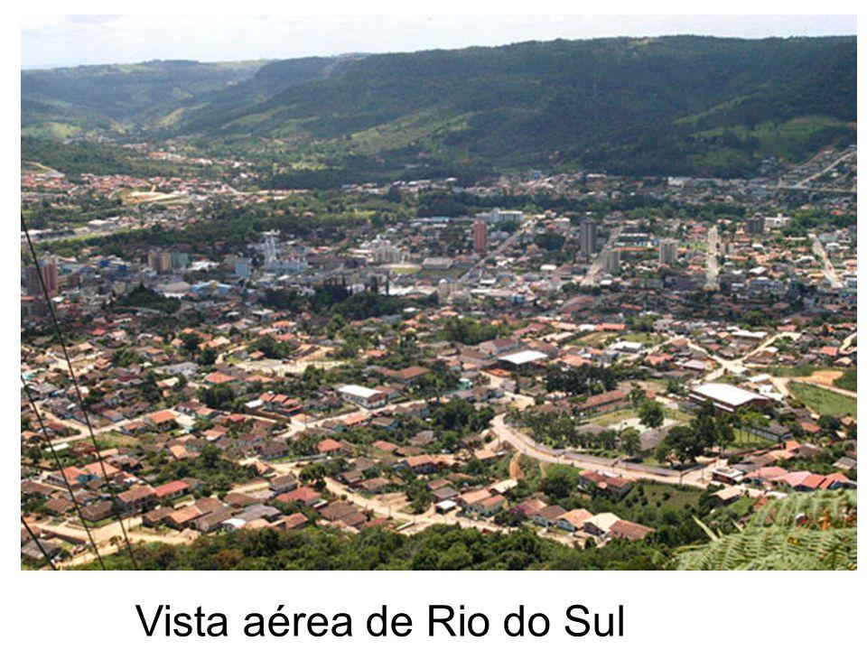 Vista aérea de Rio do Sul