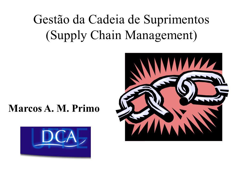 Gestão da Cadeia de Suprimentos (Supply Chain Management) Marcos A. M. Primo