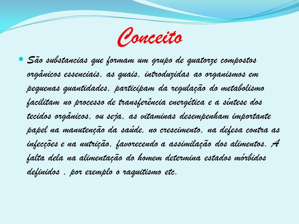 Referências bibliográficas www.emforma.net/nuticao www.abcdasaude.com.br www.quimica.seed.pr.gov.br www.saudenarede.com.br www.minhavida.com.br www.copacabanarunners.net/vitamina www.cdof.com.br/nutri www.saude.hsw.uol.com.br www.wikipedia.org