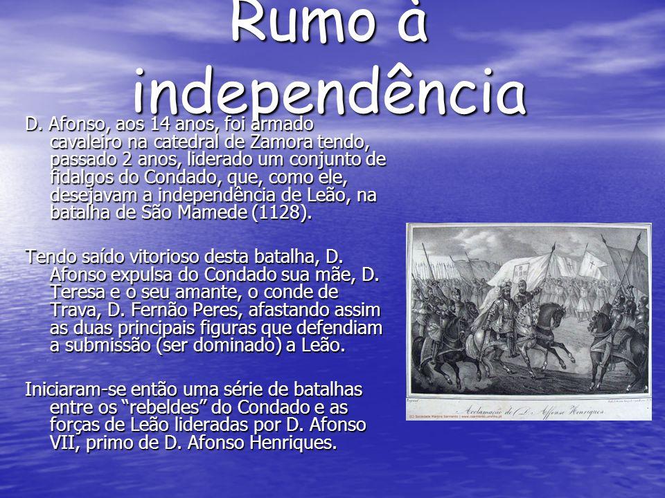 Rumo à independência D.
