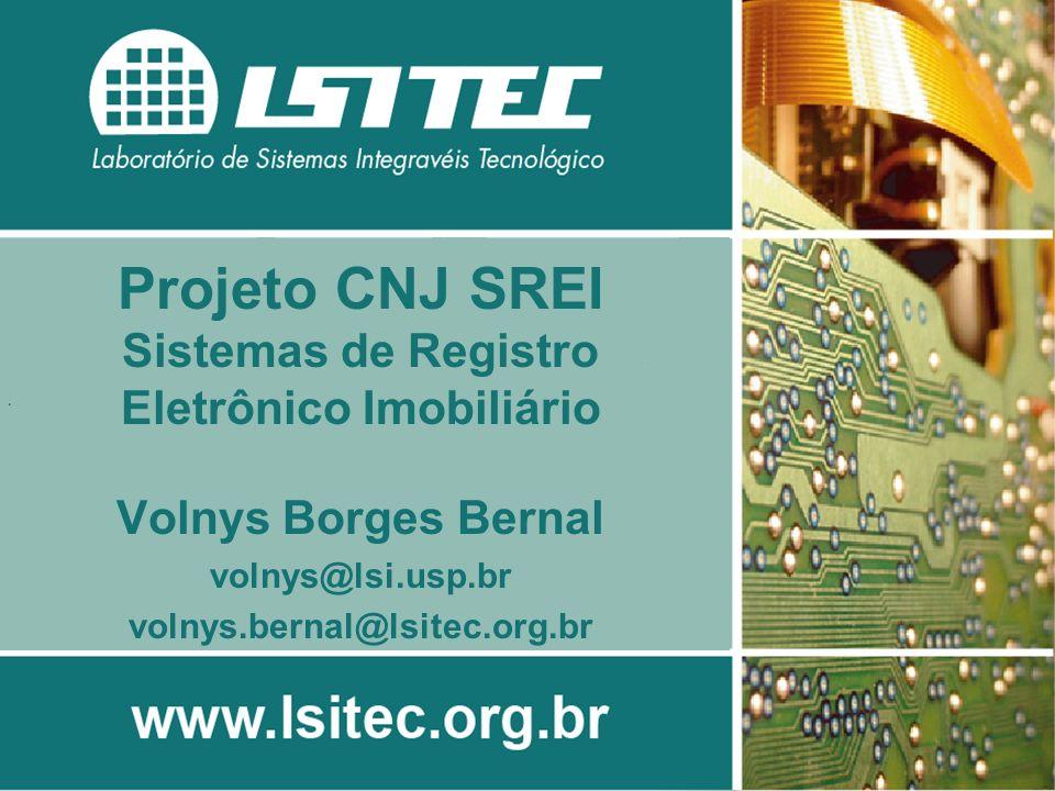 Projeto CNJ SREI - 2 Sumário Documentos manipulados Análise do cenário atual Registro Eletrônico Imobiliário Projeto SREI