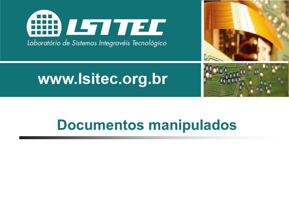 Documentos manipulados pelos Cartórios de Registro Imobiliário: A) Documentos recebidos: Títulos e ofícios B) Documentos fornecidos Certidões, recibos, relatórios,...
