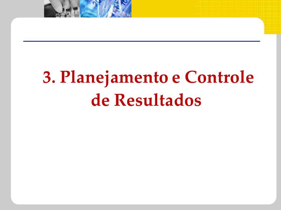 3. Planejamento e Controle de Resultados