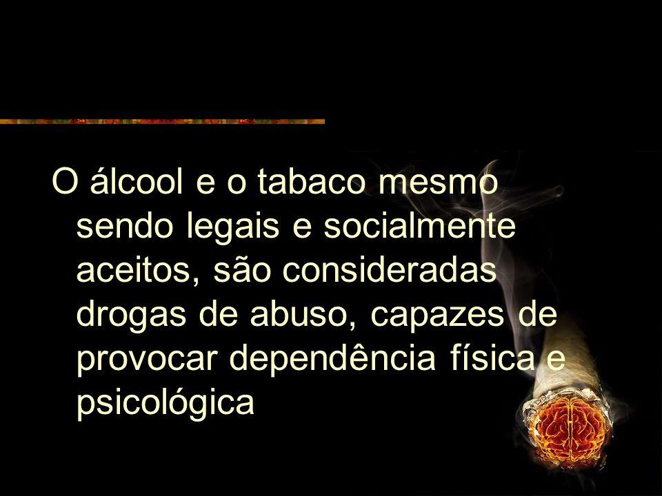 DROGAS DE ABUSO São denominadas drogas de abuso, quaisquer substâncias ou preparação que diferem da pratica médica legal ou social, que são auto-admin