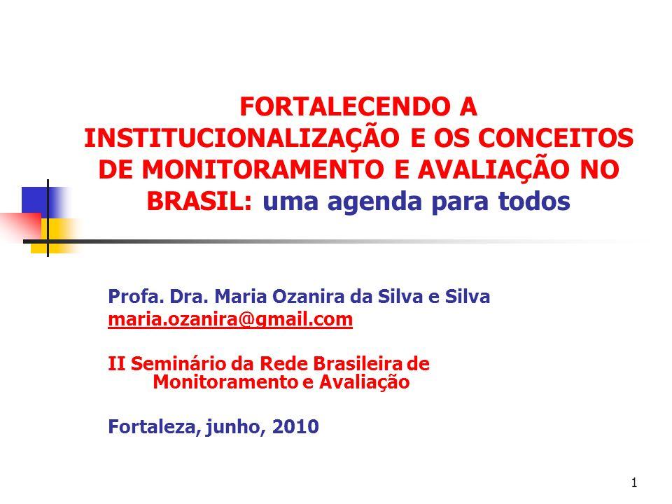 SUMÁRIO CONSTRUINDO UMA CONCEPÇÃO DA PESQUISA AVALIATIVA FUNÇÕES DA AVALIAÇÃO TIPOS DE AVALIAÇÃO CONFORME O OBJETO DA AVALIAÇÃO 2