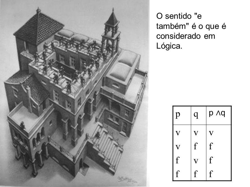 3.Disjunção ( ) Leituras: ou, e/ou Na linguagem corrente, o conectivo ou tem duas leituras.