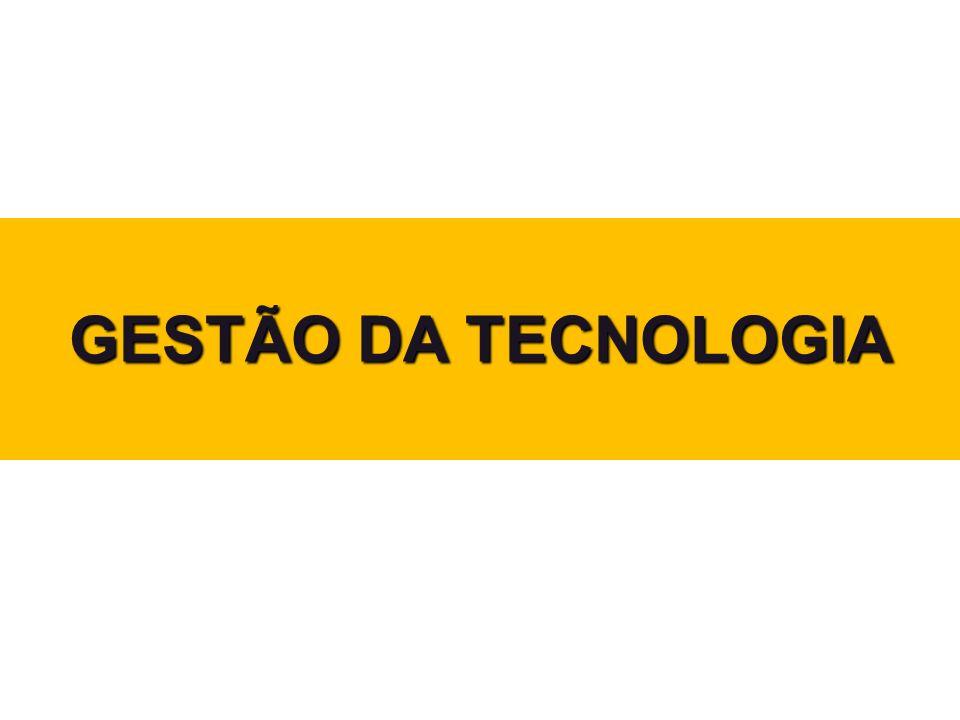 GESTÃO DA TECNOLOGIA